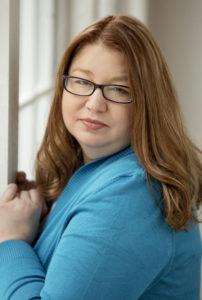 A Ruby Glows author, Kari Trumbo