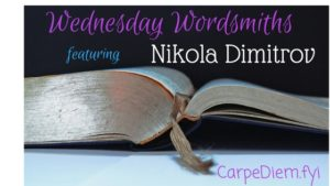 Wednesday Wordsmith author interview on CarpeDiem.fyi