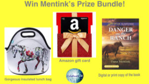 GiveAway for Dana Mentink, author of Danger on the Ranch, on tour with Celebrate Lit and featured on CarpeDiem.fyi