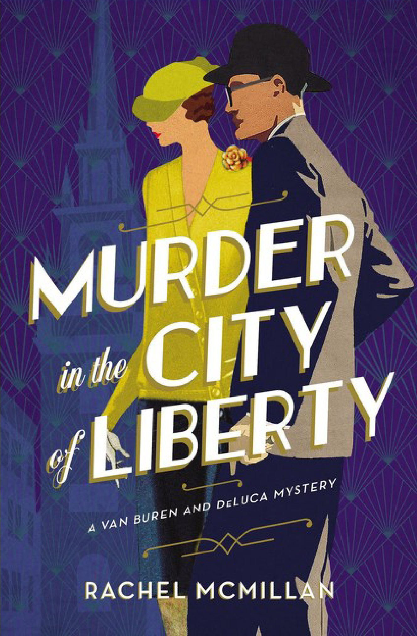MURDER IN THE CITY OF LIBERTY ~ Review & GiveAway!