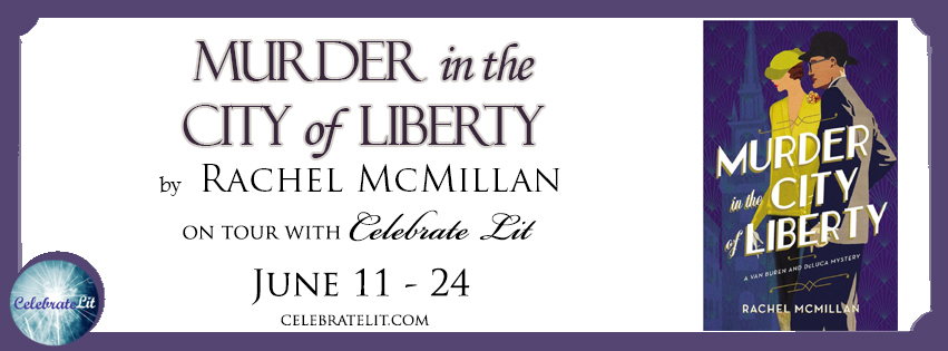 Murder in the City of Liberty on tour with Celebrate Lit and featured on CarpeDiem.fyi