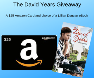 Giveaway for Lillian Duncan, author of The David Years on tour with Celebrate Lit and featured on CarpeDiem.fyi