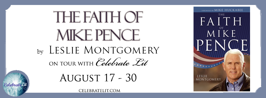The Faith of Mike Pence on tour with Celebrate Lit and featured on CarpeDiem.fyi