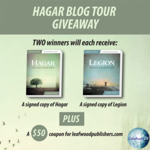 Giveaway for Shadia Hrichi, author of Hagar-Rediscovering the God Who Sees Me on tour with Celebrate Lit and featured on CarpeDiem.fyi