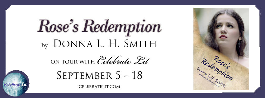 Rose's Redemption on tour with Celebrate Lit and featured on CarpeDiem.fyi