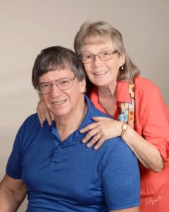 Richard and Linda Nathan, authors of The Glittering Web on tour with Celebrate Lit and reviewed on CarpeDiem.fyi