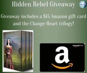 Giveaway for Michelle Janene, author of Hidden Rebel on tour with Celebrate Lit and featured on CarpeDiem.fyi