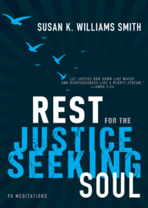 Rest for the Justice-Seeking Soul on tour with Celebrate Lit and featured on CarpeDiem.fyi