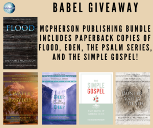 Giveaway for Brennan S. McPherson, author of Babel, on tour with Celebrate Lit and featured on CarpeDiem.fyi
