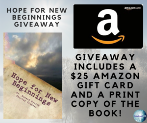 Giveaway for Hope for New Beginnings on tour with Celebrate Lit and featured on Carpediem.fyi