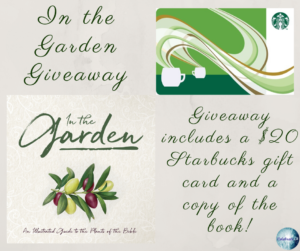 Giveaway for In the Garden on tour with Celebrate Lit and featured on CarpeDiem.fyi
