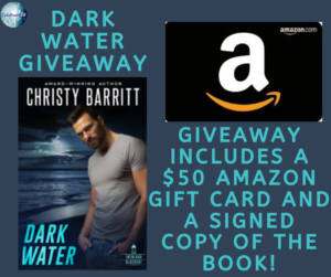 Giveaway for Christy Barritt, author of Dark Water on tour with Celebrate Lit and featured on CarpeDiem.fyi