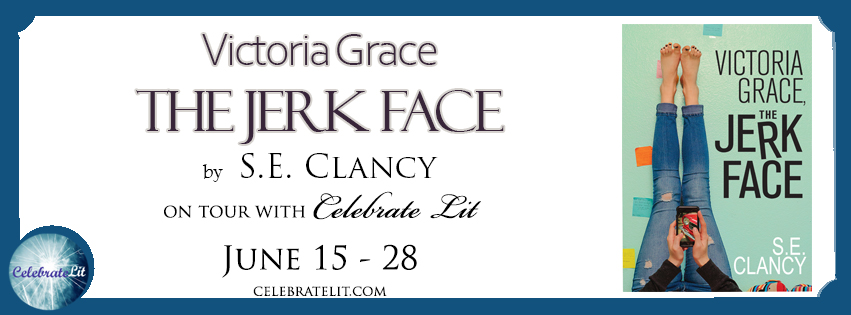 Victoria Grace: the Jerkface on tour with Celebrate Lit and featured on CarpeDiem.fyi