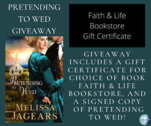 GiveAway for Melissa Jagears, author of Pretending to Wed on tour with Celebrate Lit and featured on CarpeDiem.fyi