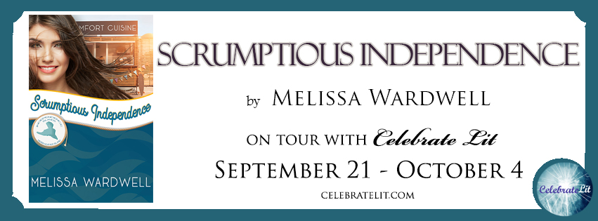 Scrumptious Independence on tour with Celebrate Lit and featured on CarpeDiem.fyi