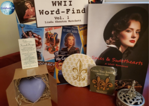 Giveaway for Linda Shenton Matchett, author of Spies & Sweethearts on tour with Celebrate Lit and featured on CarpeDiem.fyi