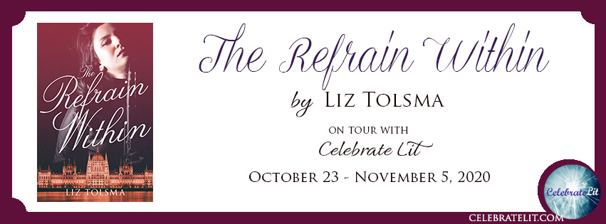 The Refrain Within on tour with Celebrate Lit and featured on CarpeDiem.fyi