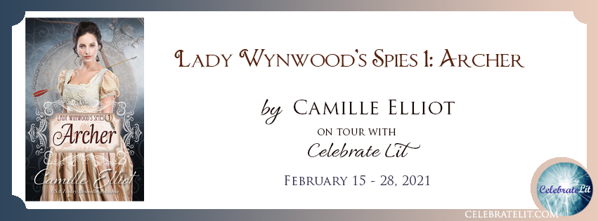Lady Wynwood's Spies 1: Archer on tour with Celebrate Lit and featured on CarpeDiem.fyi