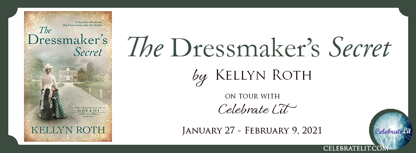 The Dressmaker's Secret on tour with Celebrate Lit and featured on CarpeDiem.fyi