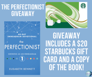 Give away for Elisabeth Bennett, author of The Perfectionist on tour with Celebrate Lit and featured on CarpeDIem.fyi